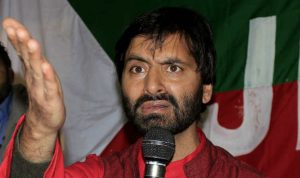 Yasin Malik Kashmir Hurriyat (Resistance) leader