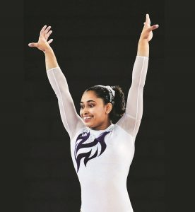 Dipa Karmakar ,the Indian gymnast