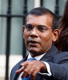 Mohammad Nasheed, the democratizing President was ousted in 2012 by forces close to former dictator Maumoon Abdul Gayoom