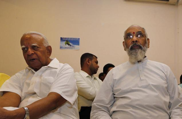 R.Sampanthan and C.V.Wigneswaran dont see eye to eye on most issues relating to the Tamils