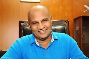 Reginold Cooray, Governor of the Tamil-majority Northern Province of Sri Lanka, who is a Sinhalese Buddhist politician from Kalutara in South Sri Lanka.