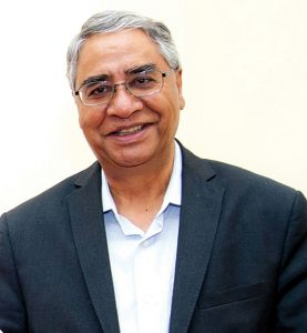 Sher Bahadur Deuba of the Nepali Congress who will succeed Dahal in nine months