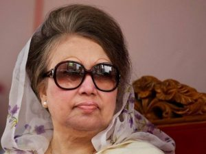Begum Khaled Zia, opposition Bangladesh Nationalist Part (BNP) leader