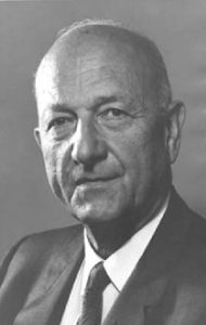 American official David Eli Lilienthal who worked out the Indus Valley Treaty to bring warring India and Pakistan together for a constructive purpose.