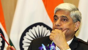 Vikas swarup, Spokesman Indian Ministry of External Affairs who hinted at abrogation of the treaty