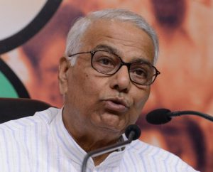 Yashwant Sinham former Indian Foreign Minister and Bharatiya Janata Party leader