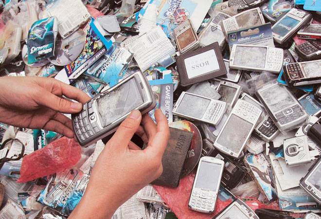 About 80 percent of the electronic goods sold in the famous Bhagirath palace market in Delhi is from China