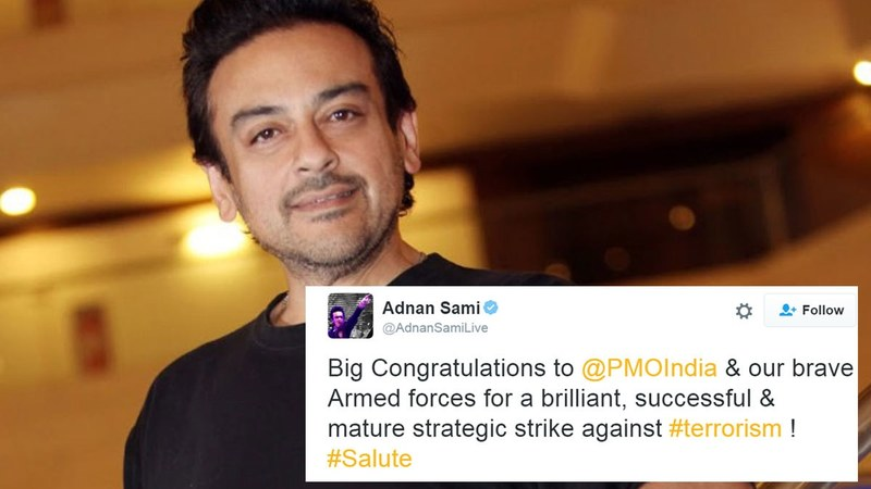 Adnan Sami quit Pakistan and became an Indian citizen last year thanks to Indian Prime Minister Narendra Modi  His tweet is seen as a reaffirmation of his switch.