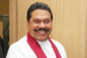 Mahinda Rajapaksa, President of Sri Lanka in 2013