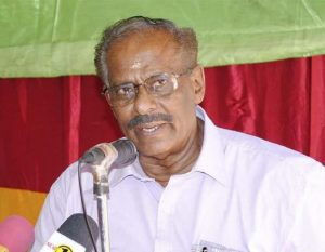 Mavai Senathirajah, MP and General Secretary Tamil National Alliance