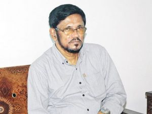 S.Thavarajah, Opposition leader in the Northern Provincial Council and member of the Eelam Peoples' Democratic Party (EPDP)