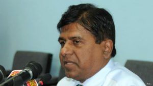 Sri Lankan Justice MinisterWijeyadasa Rajapakshe