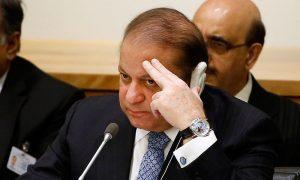 Beleaguered Pakistan Prime Minister Nawaz Sharif