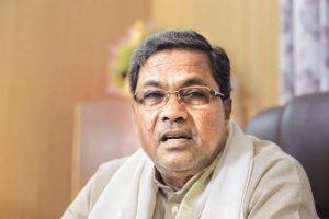 Karnataka Chief Minister Siddharamiah