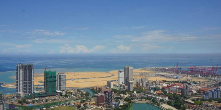 Colombo watches a city being born in the ocean