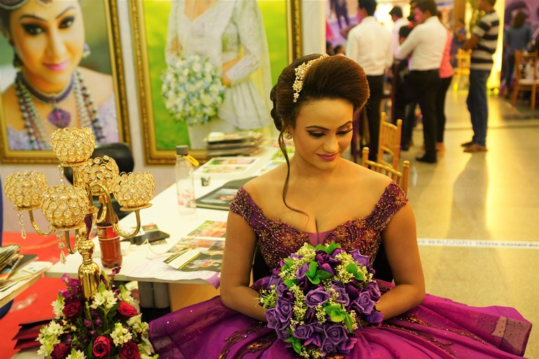 Lankan wedding exhibitions give brides and grooms the very