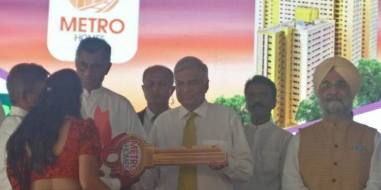 Tatas complete first phase of US$ 40 million mass housing project in Colombo