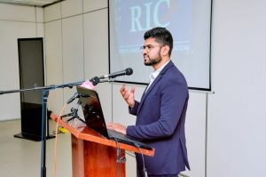 Mr. Ismail Sadurdeen, Founder and CEO of Univiser). Pic - RIC