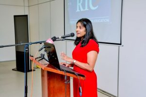 Dr Nirodha Bandara (Academic Director, RIC). Pic - RIC