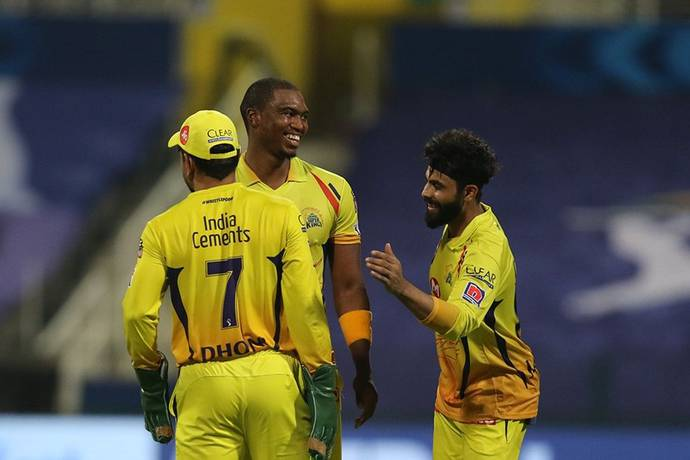 Lungi Ngidi was the pick of the Chennai bowlers with three wickets. - IPL