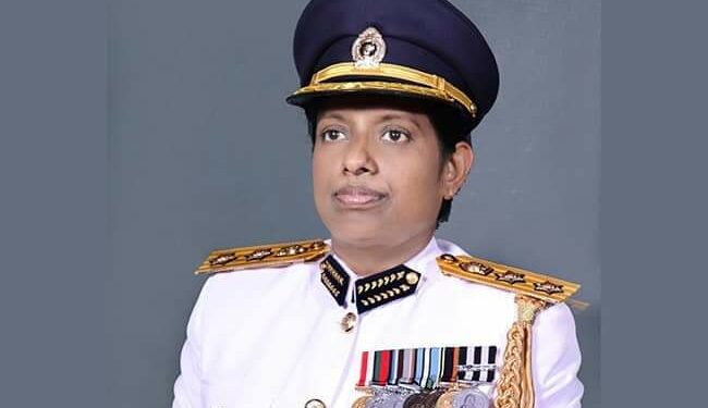 Bimshani Jasin Arachchi was appointed as the first ever female DIG in Sri Lanka in October 2020